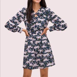 Kate Spade Panther Dot Dress